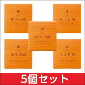 ジャパンギャルズSC 薬用柿渋石鹸×5個セット【送料無料】