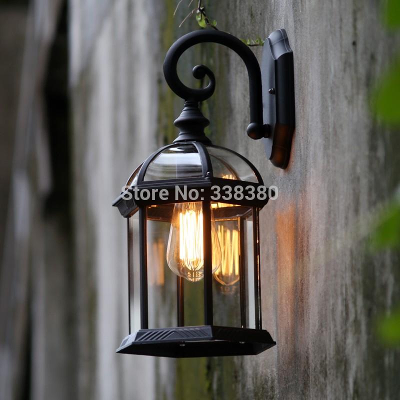 屋外/屋内 ウォールランプ レトロロフトヴィンテージライト 照明器具