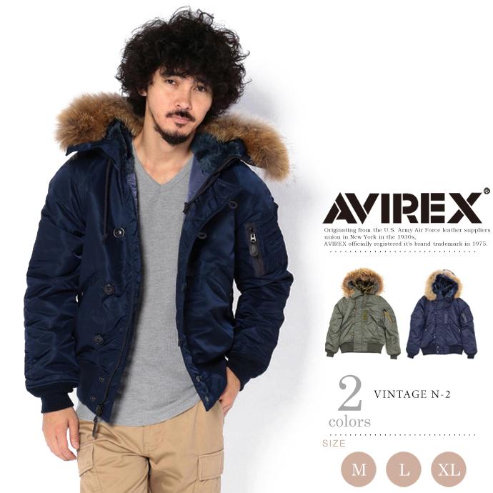 AVIREX 公式通販 | ヴィンテージ N-2/ VINTAGE N-2(アビレックス/アヴィレックス)メンズ 男性
