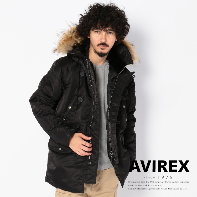 AVIREX 公式通販 |N-3B コマーシャル(リアルファー)N-3B COMMERCIAL(REAL FUR)【送料無料】(アビレックス アヴィレックス)メンズ 男性