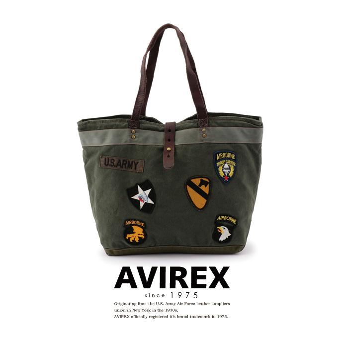 AVIREX 公式通販 | 【直営店舗限定】U.S.アーミー ミリタリー トート/ U.S. ARMY MILITARY TOTE BAG【送料無料】