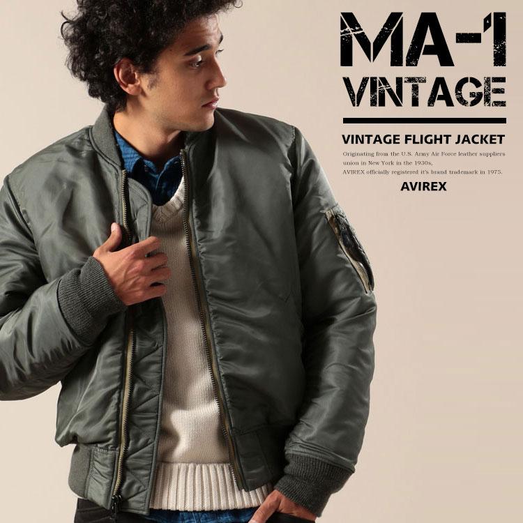 AVIREX 公式通販 | MA-1 ヴィンテージ/MA-1 VINTAGE(アビレックス アヴィレックス)メンズ 男性