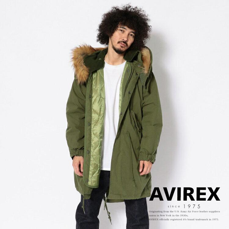 AVIREX 公式通販 | M-65 フィールドパーカー/ M-65 FIELD PARKA【送料無料】(アビレックス アヴィレックス)メンズ 男性