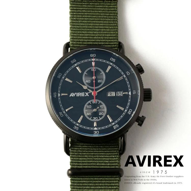 AVIREX 公式通販 | クロノグラフウォッチ ナトーベルト/CHRONOGRAPH WATCH W/NATO(アビレックス アヴィレックス)メンズ 男性
