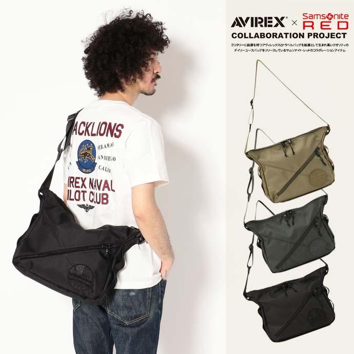 AVIREX 公式通販 | AVIREX×Samsonite Red/アヴィレックス×サムソナイトレッド/ショルダーバッグ/SHOULDER BAG【送料無料】