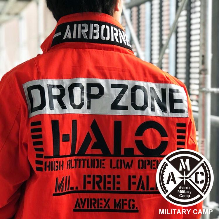 AVIREX 公式通販 | MA-1 モデファイ ハロ/MA-1 MOD HALO(アビレックス アヴィレックス)メンズ 男性 ma1
