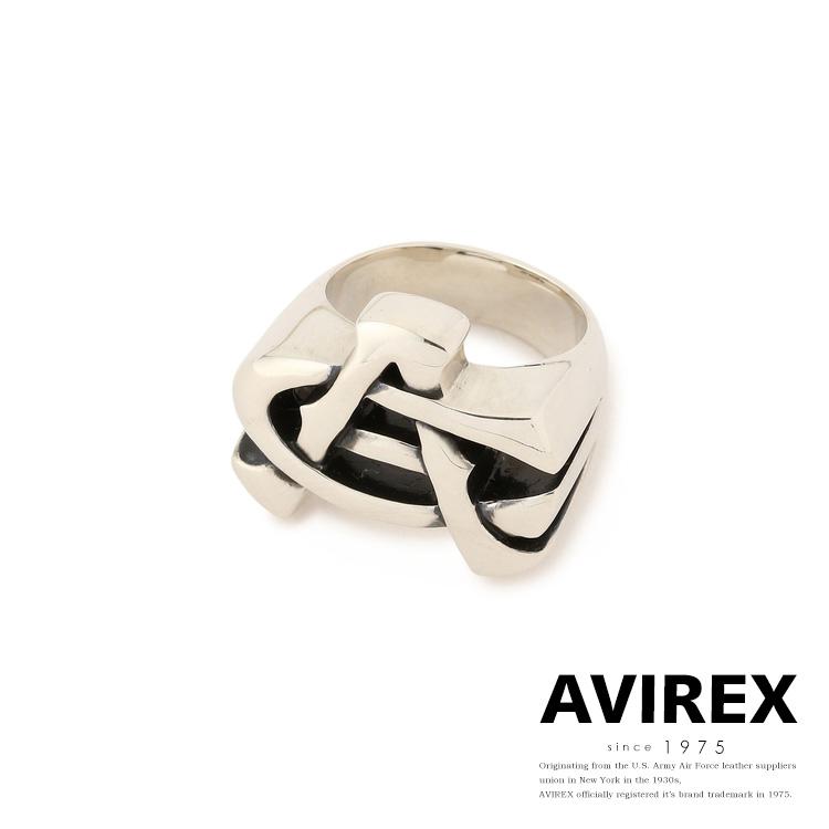 AVIREX 公式通販 | AC ロゴ リング/AC LOGO RING SILVER(アビレックス アヴィレックス)メンズ 男性
