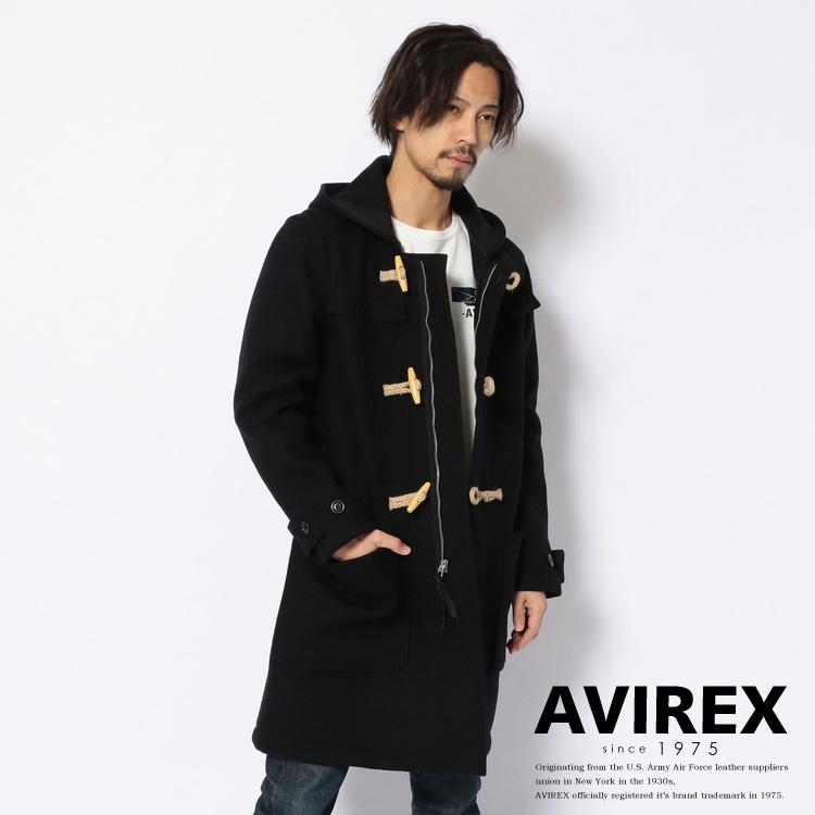 AVIREX 公式通販 | 【直営店限定】メルトンダッフルコート/MELTON DUFFLE COAT(アビレックス アヴィレックス)メンズ 男性