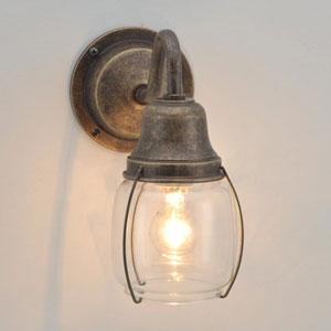 送料無料 照明 玄関灯 屋外照明 マリンランプ 船舶 ガーデンライト 防雨仕様 真鍮製 おしゃれ照明 枕木 門柱 ゴーリキアイランド BR1720