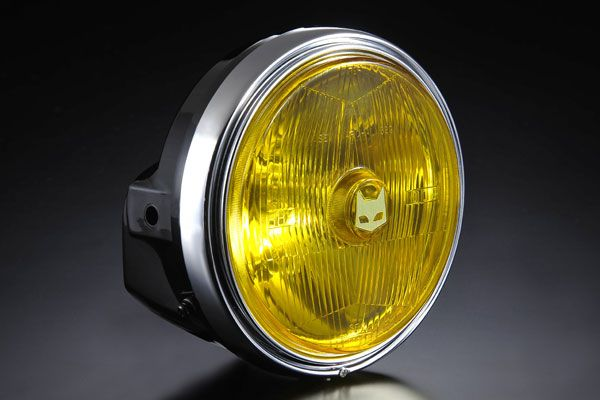 MARCHAL:マーシャル 正規品 オープニング 大放出セール 2月26日発送予定 MARCHAL マーシャル 889 ランプフルキット 900F CBX400F イエローレンズ CB1100R ブラックケース付 750F おすすめ ヘッドライト