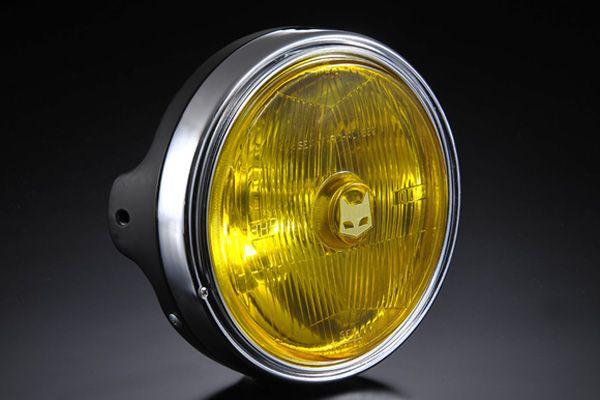 MARCHAL:マーシャル 正規品 MARCHAL マーシャル 889 2020新作 ランプフルキット イエローレンズ 汎用 XJR ゼファー ブラックケース付 ZEPHYR ZRX ヘッドライト 爆買い送料無料 CB400SF