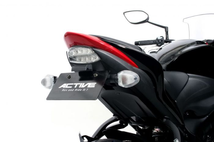 ACTIVE:アクティブ 正規品 ACTIVE アクティブ フェンダーレスキット GSX-S1000F GSX-S1000 出群 LEDナンバー灯付 15-20 メーカー公式ショップ