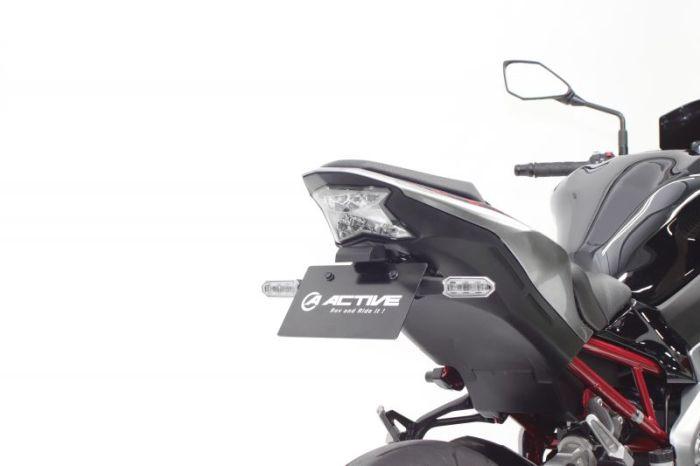ACTIVE:アクティブ 正規品 ACTIVE アクティブ フェンダーレスキット Z900 超特価SALE開催 18-20 オリジナル LEDナンバー灯付 カスタムパーツ