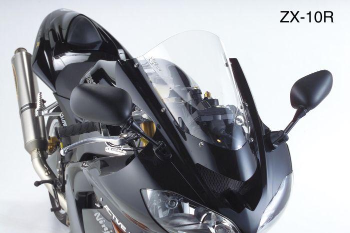 ZEROGRAVITY:ゼログラビティ 激安通販専門店 受注生産 注文約4ヶ月 新作からSALEアイテム等お得な商品満載 正規品 ZEROGRAVITY ゼログラビティ スクリーン 04-05 ダークスモーク Z750S ZX-10R ダブルバブル 05-06