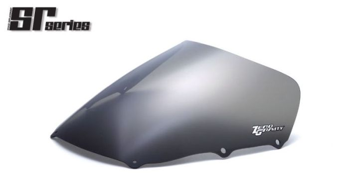 人気海外一番 ZEROGRAVITY:ゼログラビティ 受注生産 希少 注文約4ヶ月 正規品 ZEROGRAVITY ゼログラビティ ダークスモーク スクリーン GPZ1100 95-97 SRタイプ