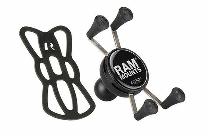 RAM MOUNTS:ラムマウント 売却 正規品 即納 MOUNTS ラムマウント Xグリップ 交換無料 スマートフォン用 テザー付 汎用