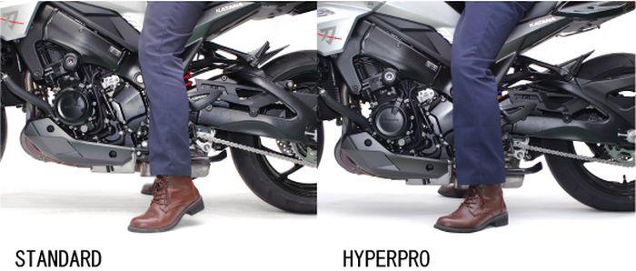 大人気 HYPERPRO:ハイパープロ 送料無料限定セール中 最安値挑戦 正規品 HYPERPRO ハイパープロ ローダウンタイプ:約-25mm フロントフォークスプリング GSXR1000 09-16
