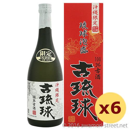 泡盛 忠孝酒造 / 古琉球 3年100%古酒 25度,720ml ×6本セット