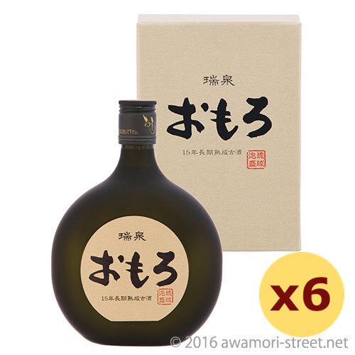 泡盛 瑞泉酒造 / 瑞泉 おもろ 15年古酒 43度,720ml ×6本セット