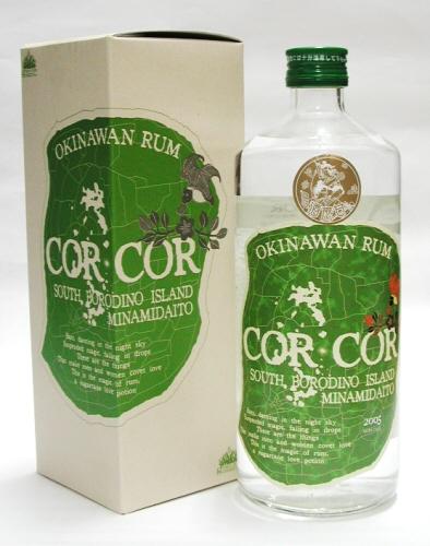 1本1本真心をこめて造られたラム酒 CORCOR AGRICOLE 緑コルコル アグリコール AL 40% ラム酒 沖縄 即納 公式 720ml:グレイスラム