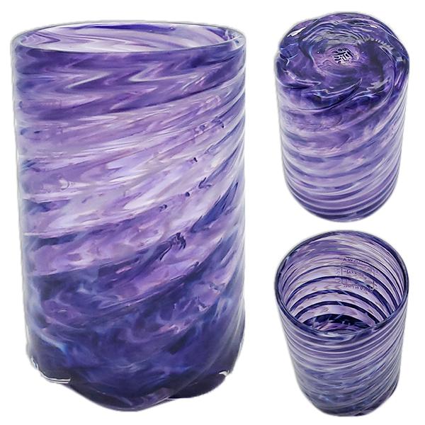 琉球ガラス:美ら海グラス(全6色):源河源吉