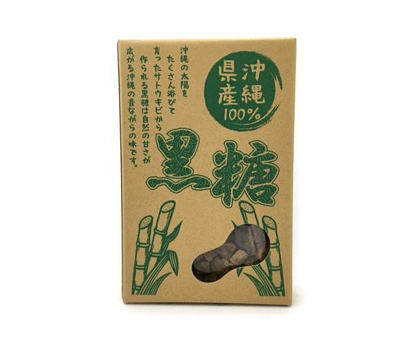 沖縄県産100%黒糖(平良商店)