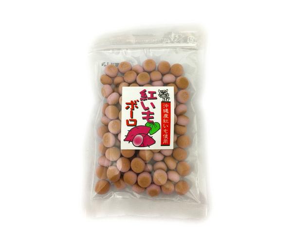 沖縄県産紅芋使用紅芋ボーロ50g入り