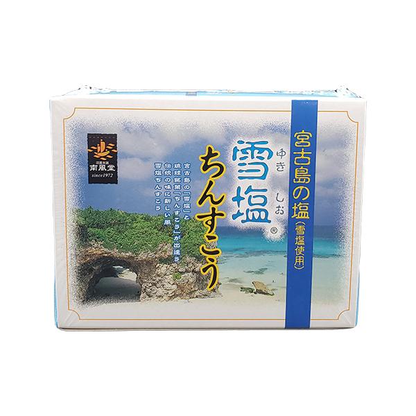 爆買い送料無料 ギネス認定世界一の自然塩 雪塩 を使用したお菓子です 雪塩ちんすこうミニ12個入り 2個入り×6袋入り 超激得SALE 沖縄土産 南風堂 ちんすこう 沖縄菓子
