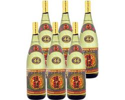 泡盛 琉球44度 1800ml×6本 [新里酒造 しんざと / 1升瓶 一升瓶 / 古酒つくり]