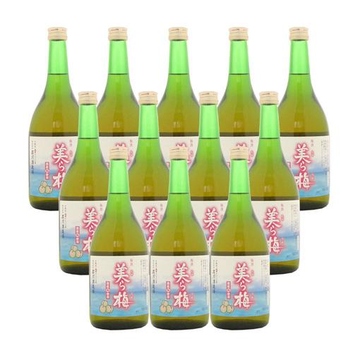 泡盛梅酒 美ら梅 13度 720ml×12本 [石川酒造 いしかわ / ちゅらうめ / 4合瓶 四合瓶 / 泡盛リキュール]