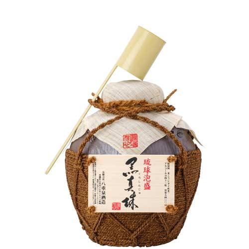 【泡盛】【八重泉酒造】黒真珠 3升壷 43度/5400ml 【琉球泡盛_CPN】_濃厚