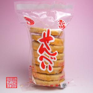 虾煎饼冲绳零食的经典的7张玉木制造糕点