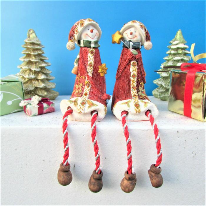 暖かな格好をしたスノーマンのオーナメントクリスマスツリーに飾った後も 冬の間ほっこりを運んで来てくれそうです あったかクリスマス あったかスノーマンセット クリスマス 本店 置物 プレゼント Xmas インテリア置物 ウインターギフト ついに入荷 クリスマス雑貨