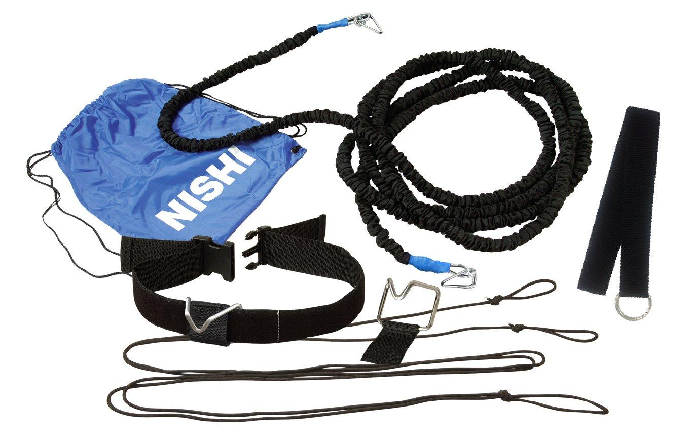 【送料無料】【NISHI ニシスポーツ】【陸上競技用品】 トレーニングチューブ(9m/ヘビー) クイックリリース・スピードハーネスTS(9mヘビーチューブタイプ) NT7422D