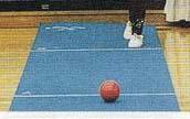 【送料無料】【サンラッキー SUNLUCKY】【ピンが回転する ビーンボウリング】ニュースポーツ ビーンボーリング専用レーン  BN-3