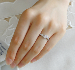 pt9000.5ctテンダイヤモンドリング