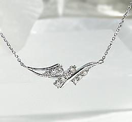 Pt900 テンダイヤモンド ネックレス