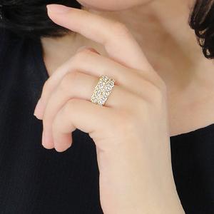 ☆K18WG/YG/PG 【2.0ct】ダイヤモンド リング 【楽ギフ_包装】 代引手数料無料 品質保証書 ゴールド 18K 18金 2.0 2カラット エタニティ 2連 ダイア リング 結婚指輪 婚約指輪 エンゲージリング ブライダルリング 人気 豪華