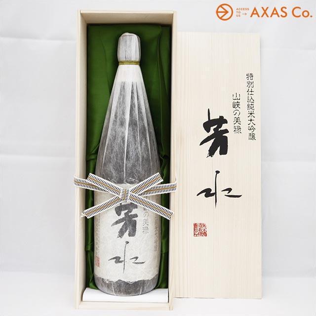 芳水特別仕込純米大吟醸 桐箱入 1.8L