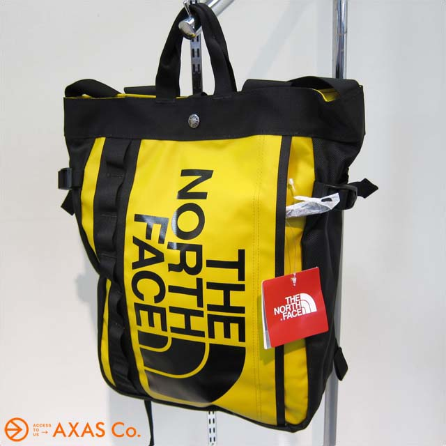 3269994c10 THE NORTH FACE (the north face) BC FUSE BOX TOTE NM81503 Col.SG  Summit  gold  unisex   tote bag   backpack   yellow system   genuine  △ 2