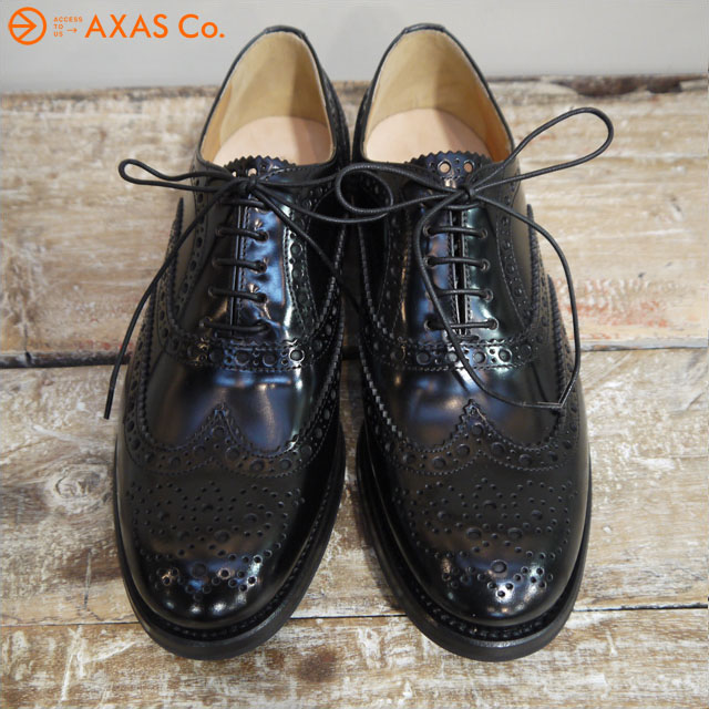 【plokh】 CHURCH'S (チャーチ) BURWOOD LADIES WG Col.BLACK