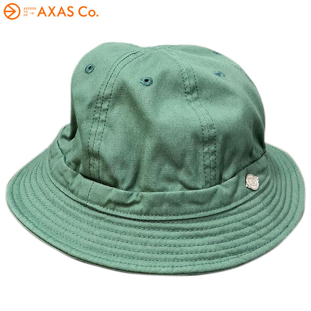 【plokh】 DECHO (デコー) SHALLOW KOME HAT 1-2SD18 Col.OLIVE