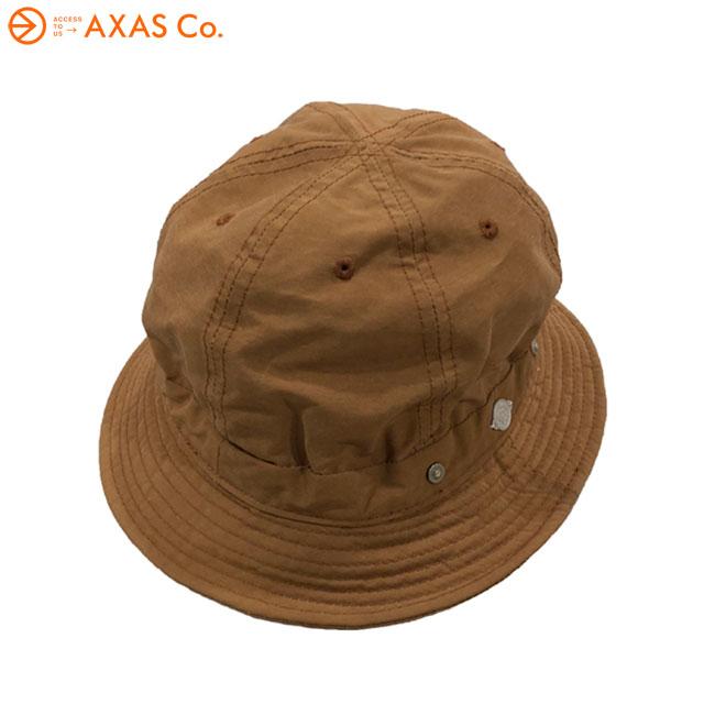 【plokh】 DECHO(デコー) SHALLOW KOME HAT 8-2AD18 Col.褐色