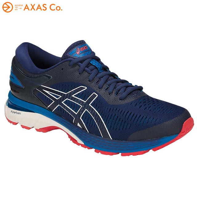 asics(アシックス) 1011A019 GEL-KAYANO(R) 25 Col.INDIGO BLUE/CREAM