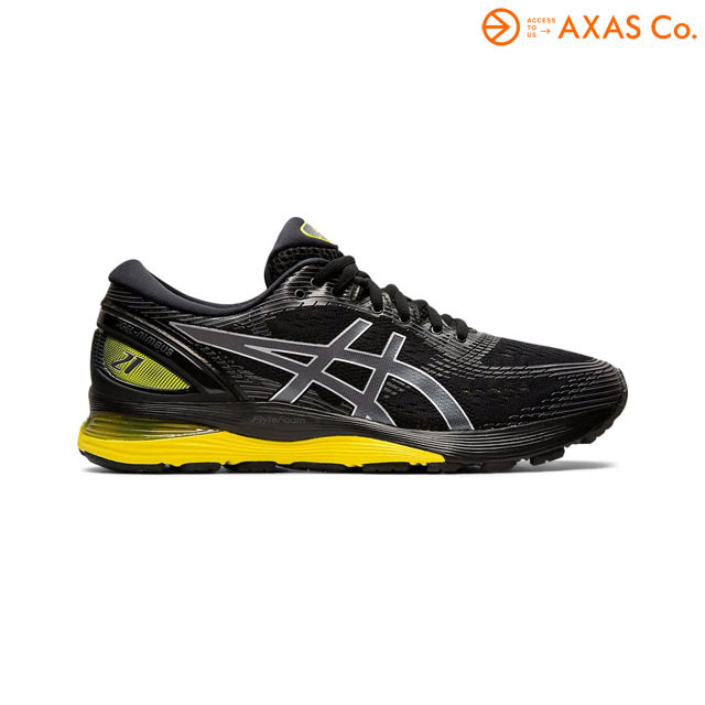ASICS(アシックス) 1011A169 GEL-NIMBUS 21 Col.BLACK/LEMON SPARK