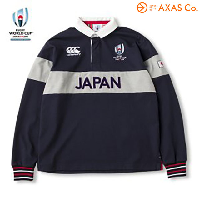 CANTERBURY(カンタベリー) RWC2019 L/S RUGBY JERSEY [VWD49152] Col.29