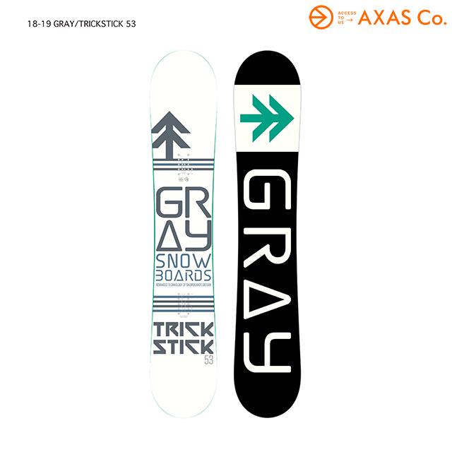 gray(グレイ) 18-19 TRICKSTICK Col.WHT Size:153