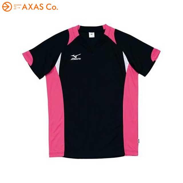 ギフト使用はご注意ください パッケージにキズ 汚れがある場合有り 新作からSALEアイテム等お得な商品満載 ユニセックス Tシャツ バレーボール アウトレット 39 Col.97 ブラック×マゼンタ ストア ミズノ Mizuno 59HV324 半袖ゲームシャツ