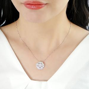 Pt900 ダイヤモンド フラワー ネックレス2 00ctUP プラチナ ジュエリー 豪華 ダイヤネックレス ダイア ダイotQdBhrCxs