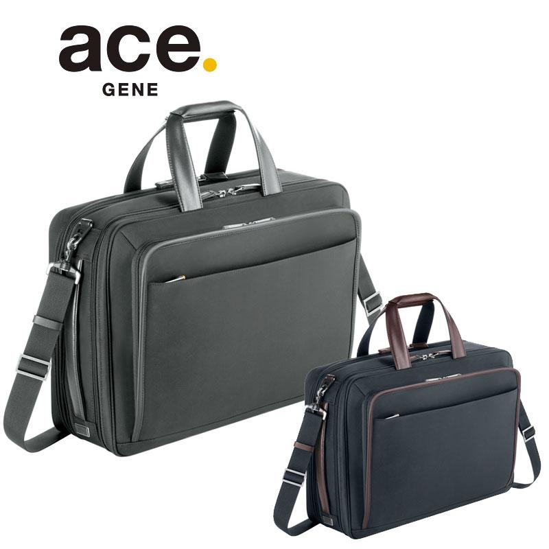 【セール】2WAYビジネスバッグ 59525 エースジーン ace.GENE B4 エキスパンダブル 大型サイズ PC収納 EVL-3.0【返品交換不可】